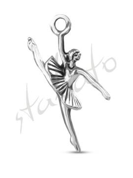 Metal pendant Ballerina 1