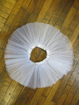 2-layer tutu skirt - stiff tulle - SALE