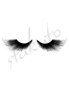 Long false lashes Star Gazer