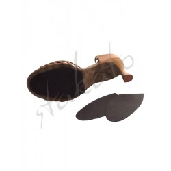 Shoe sole microgum