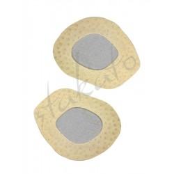 Półwkładki skórzane z pelotą - hamulec stopy