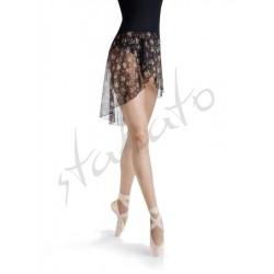 Tunika wiązana Lilu cream flower short