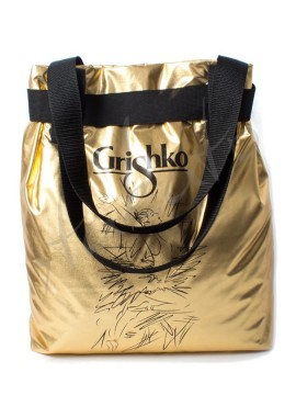 Metallic bag Giselle Grishko