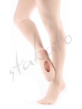 Rajstopy baletowe z dziurką damskie T90AD Sansha