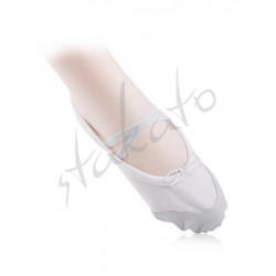 Baletki dziecięce Alex ze skórzanym noskiem