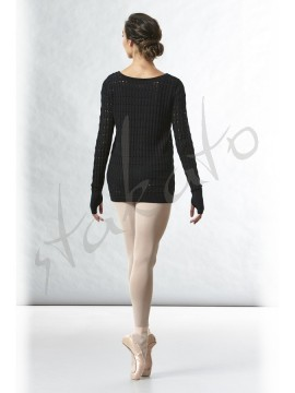 Knitted sweater with thumb holes Shina Bloch