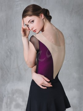 Ladies' leotard with mesh DA1805 Bolshoi Stars Grishko