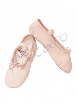 Baletki dziecięce płócienne 4C Sansha