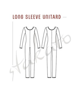 Men long sleeve unitard DA11M Grishko