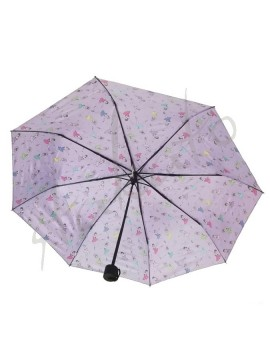 Foldable umbrella with ballerinas