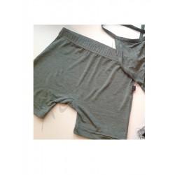 Shorts for men Metallic Green Juli Garden