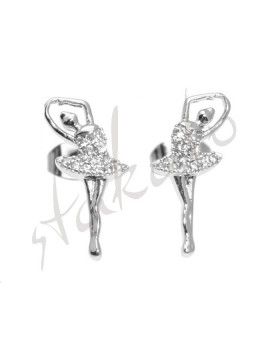 Earrings with dancer Ambre