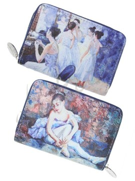 Small wallet BALLET ART