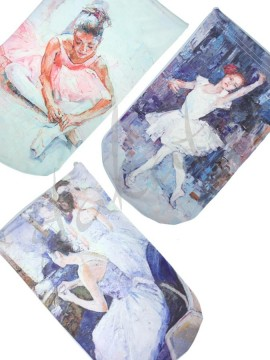 BALLET ART bag for pointe shoes / soft shoes