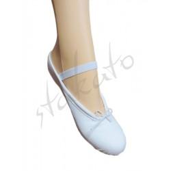 Baletki dziecięce płócienne 5C Sansha - DEFEKT