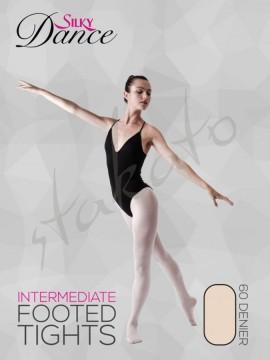 Rajstopy baletowe damskie Intermediate Silky Dance