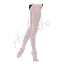 Rajstopy baletowe z dziurką Intermediate Silky Dance