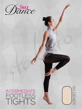 Footless Ballet Tights Intermediate Silky Dance