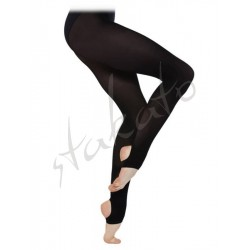 Stirrup Ballet Tights Intermediate Silky Dance