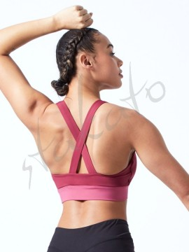 Cross back crop top FT5199 Bloch