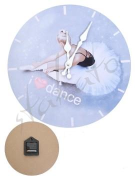 Wall clock I LOVE DANCE Dream