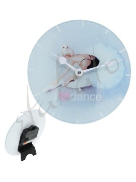 Table clock I LOVE DANCE Luna