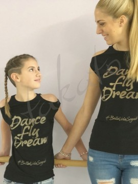 T-shirt Dance Fly Dreama glitter LD