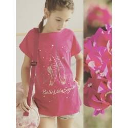 T-shirt Balla Vola Sogna glitter LD