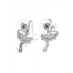 Earrings with ballerina Felicia