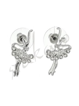 Earrings with ballerina Felicia