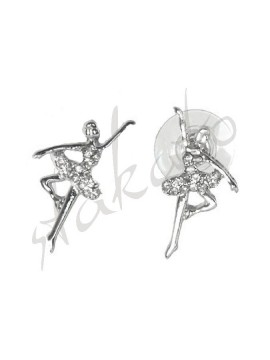 Earrings with ballerina Annabelle