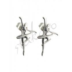 Earrings with ballerina Anna