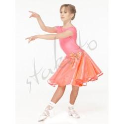Juvenile set - skirt and short sleeve leotard
