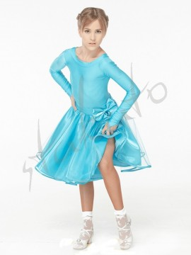 Juvenile set - skirt and long sleeve leotard