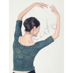 Top - ocieplacz baletowy Anette Green Leaf Juli Garden