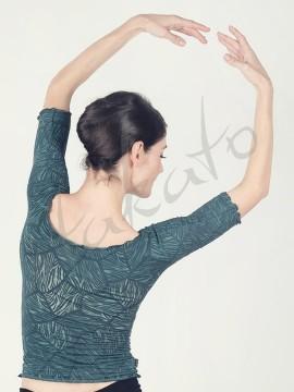 Top - ocieplacz baletowy Anette Grean Leaf Juli Garden