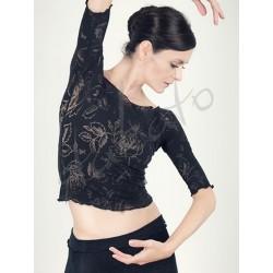 Top - ocieplacz baletowy Anette Black Juli Garden