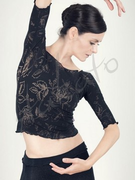 Dance top Anette Black Juli Garden
