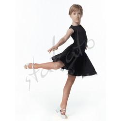 Girl's practice dress with crinoline