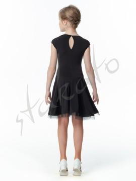 Sukienka treningowa dziewczęca z krynoliną