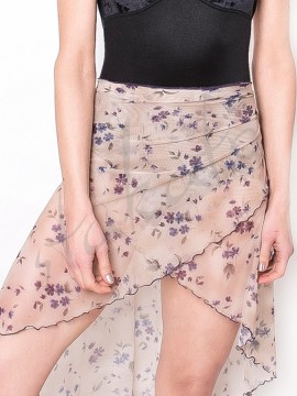 Long skirt Lilu Beige Flowers Juli Garden