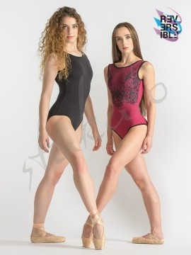 Reversible tank leotard Michon Ballet Rosa