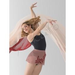 Tunika wiązana Leonie Ballet Rosa
