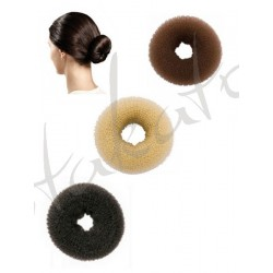 Hair bun donut - ring holder