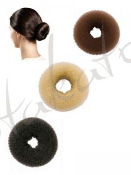 Hair bun donut - ring holder