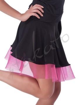 Skirt with crinoline