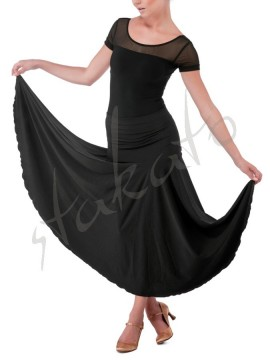 Long skirt for standard with yoke
