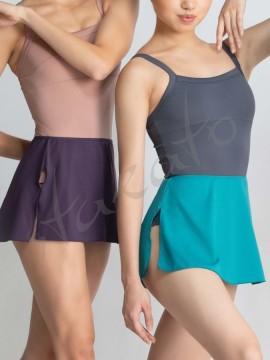 Pull-on wrap skirt Marthe Ballet Rosa