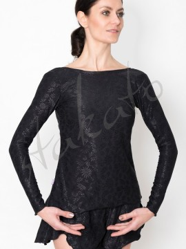 Warm up blouse Lana Black Juli Garden
