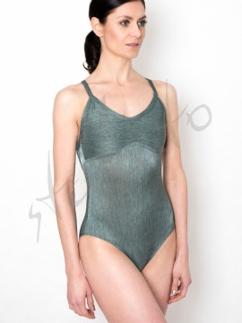 Leotard Julia Metallic Green Juli Garden